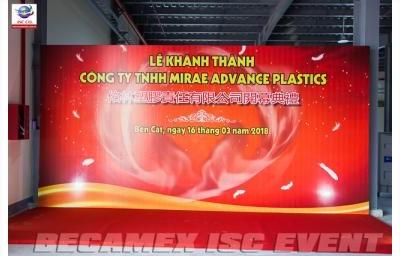 Lễ Khánh Thành Công Ty TNHH MIRAE AVANCE PLASTICS