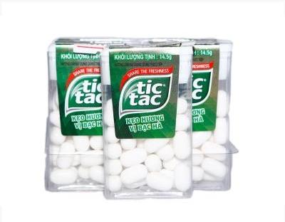 Kẹo Tictac hương bạc hà 14.5g