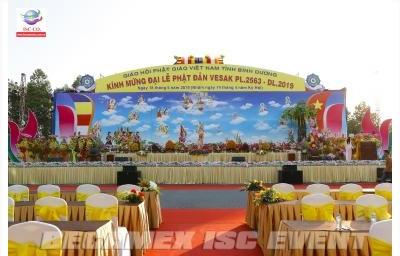 Tỉnh Bình Dương trọng thể tổ chức Đại Lễ Phật Đản Vesak Phật lịch 2.563 - Dương lịch 2019
