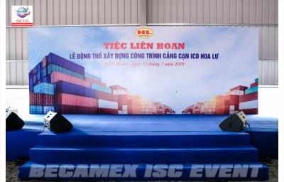 Lễ Động Thổ Xây Dựng Công Trình Cảng Cạn ICD Hoa Lư Tỉnh Bình Phước