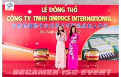 Lễ Động Thổ Công Ty TNHH Ampacs International