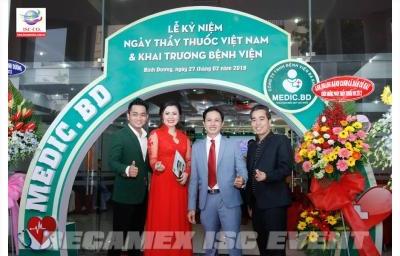 Lễ Kỷ Niệm Ngày Thầy Thuốc Việt Nam & Khai Trương Bệnh Viện Medic Bình Dương