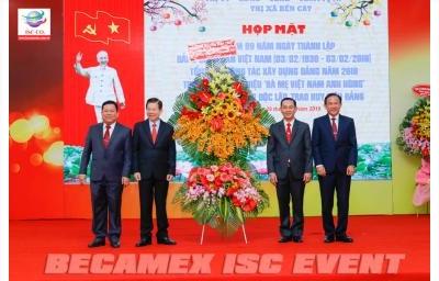 Họp Mặt Kỷ Niệm 89 Năm Ngày Thành Lập Đảng Cộng Sản Việt Nam (03/02/1930 - 03/02/2019) Thị Ủy - HĐND - UBND - UBMTTQVN Thị Xã Bến Cát