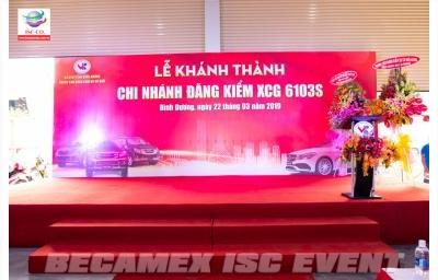 Lễ Khánh Thành Chi Nhánh Đăng Kiểm XCG 6103S