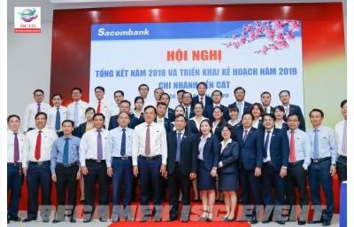 Hội Nghị Tổng Kết Năm 2018 Và Triển Khai Kế Hoạch Năm 2019 - Sacombank Chi Nhánh Bến Cát