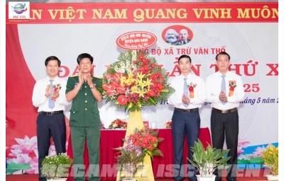 Đại hội Đảng bộ xã Trừ Văn Thố, lần thứ XII, nhiệm kì 2020 – 2025.