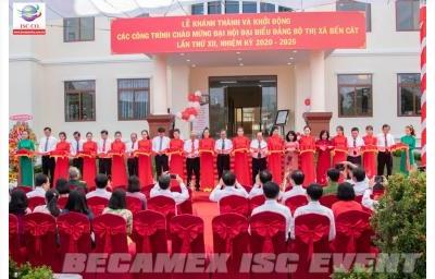 Khánh Thành Và Khởi Động Các Công Trình Chào Mừng Đại Hội Đại Biểu Đảng Bộ Thị Xã Bến Cát Lần Thứ Xii, Nhiệm Kì 2020 – 2025