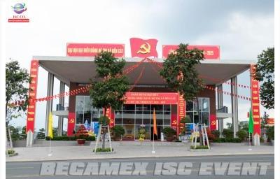 Đại Hội Đại Biểu Đảng Bộ Thị Xã Bến Cát Lần Thứ XII, Nhiệm Kỳ 2020 - 2025