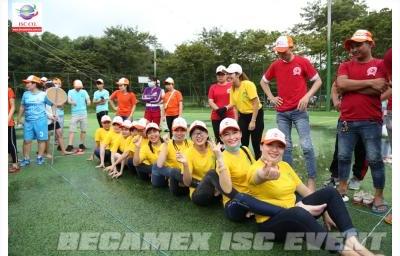 Hội thao cty TNHH H&L Apparel (Vietnam) – Becamex ISC event thực hiện