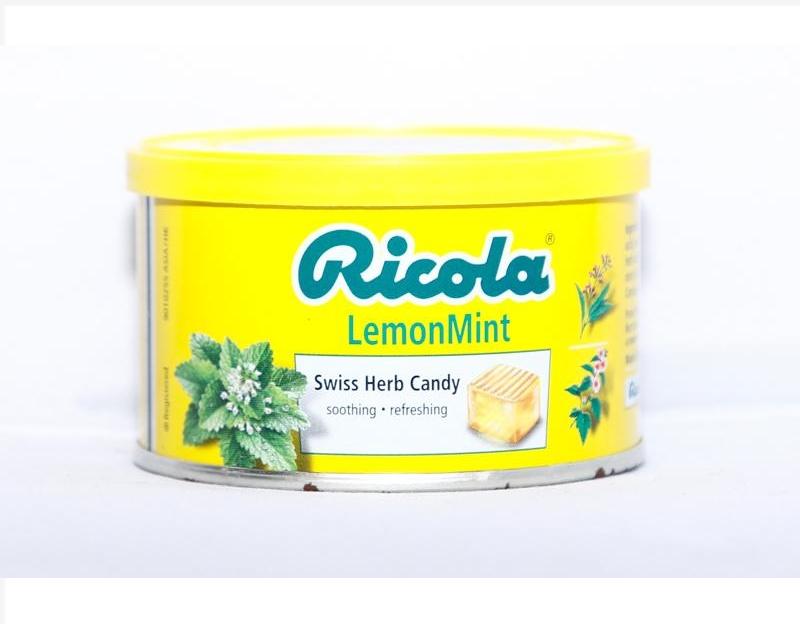 Kẹo Ricola Chanh và Bạc Hà 100g
