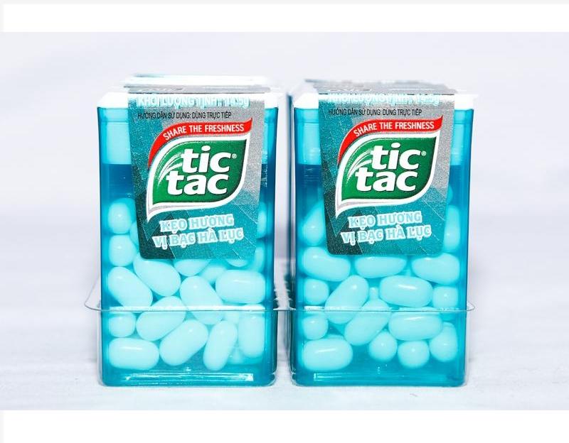 Kẹo Tictac hương Bạc Hà Lục 14.5g
